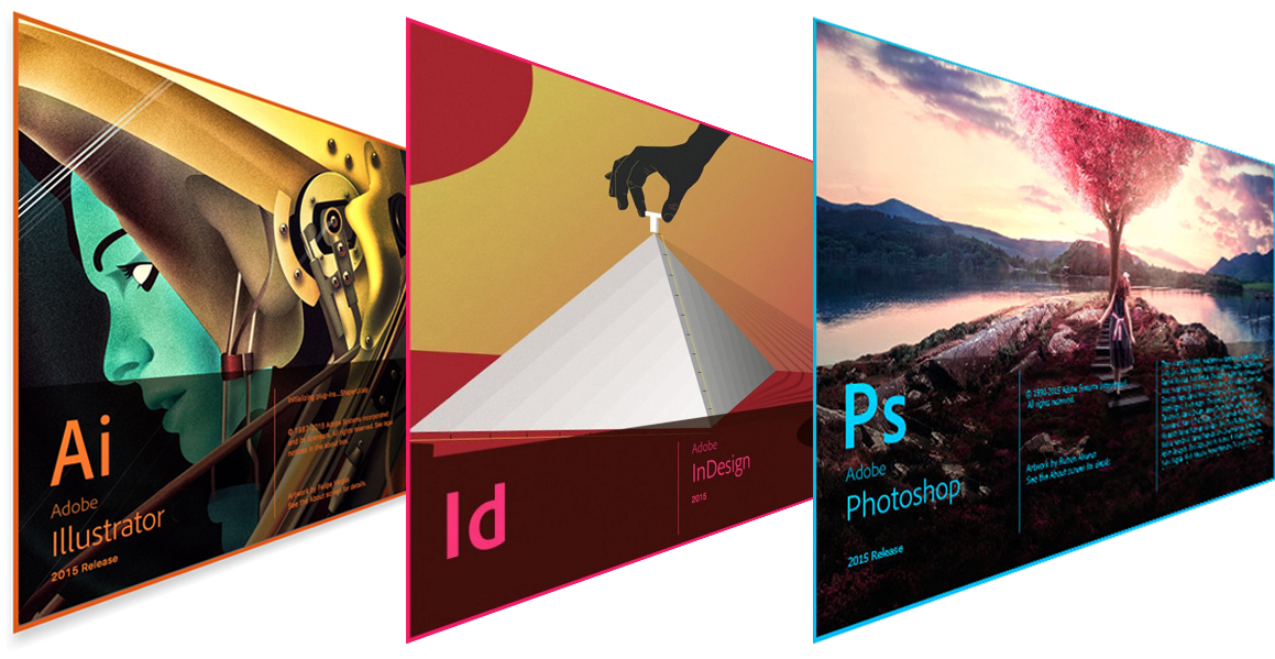 Pack Diseño Gráfico Photoshop, Illustrator e Indesign
